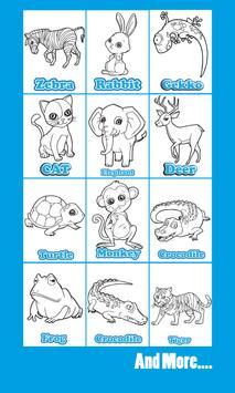 animal coloring Book for Kids screenshot 5
