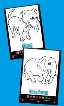 animal coloring Book for Kids screenshot 1