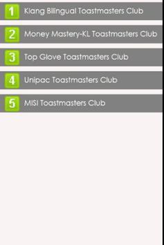 Toastmasters D102 Div C apk screenshot