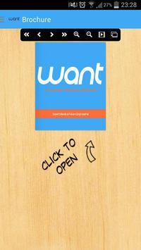 WANT App apk screenshot