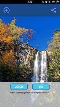 Animated Waterfall LWP apk screenshot