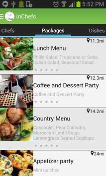 inChefs Android app poster