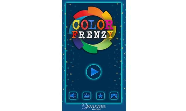 Crazy Color Frenzy poster