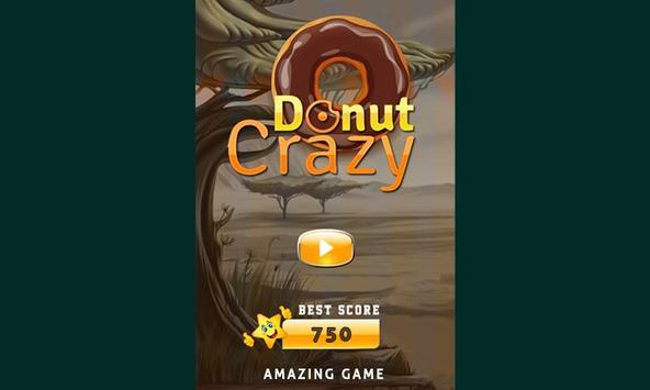 Donut Crazy Sweet Match3 poster