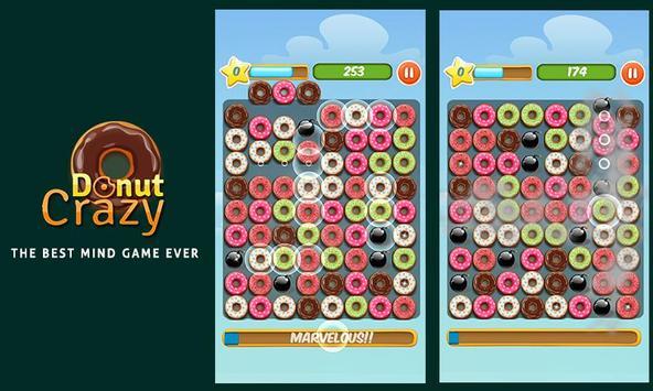Donut Crazy Sweet Match3 screenshot 2