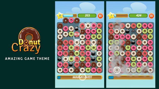 Donut Crazy Sweet Match3 screenshot 4