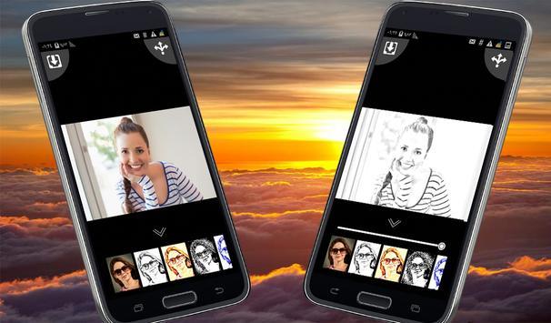 تحويل صورتك إلى رسم و كرتون screenshot 2