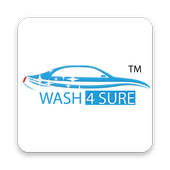 WASH4SURE – DOORSTEP VEHICLE CLEANING icon