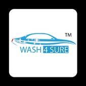 WASH4SURE – DOORSTEP VEHICLE CLEANING icon