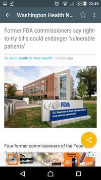 Washington Health screenshot 2