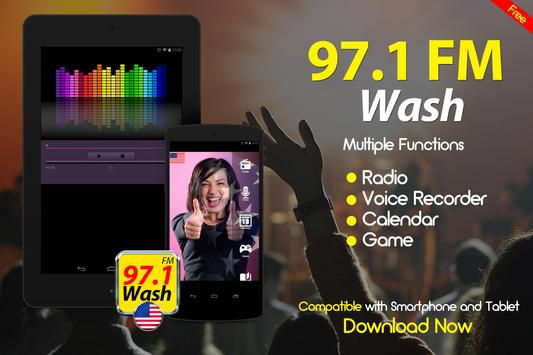 97.1 Wash FM Washington DC Radio Stations screenshot 1