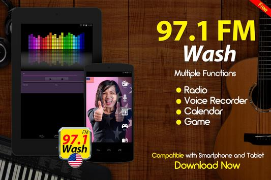 97.1 Wash FM Washington DC Radio Stations screenshot 2