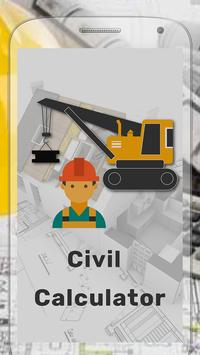Civil Calculator poster