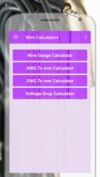 Electric wire calculator apk download free education app for electric wire calculator poster electric wire calculator apk screenshot greentooth Image collections