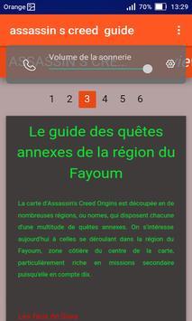 Guide pour Assassin's creed origin screenshot 3
