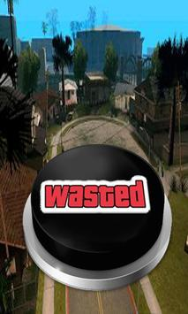 Wasted Sound Button poster