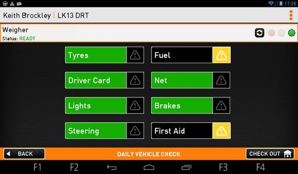 Driver App apk screenshot