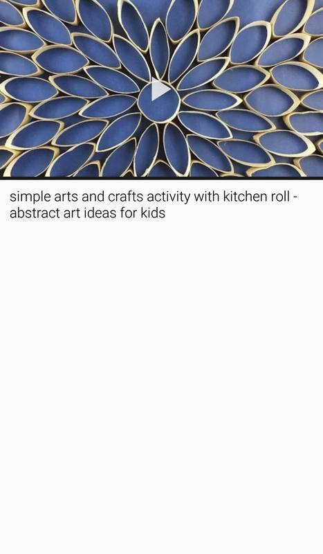 Waste Material Art And Craft Ideas With Video App For Android Apk