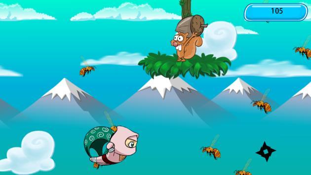 Mountain Ninja Hattori screenshot 2