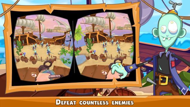 Zombie Pirates VR Shooter apk screenshot
