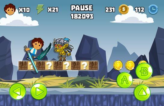 Super Diego Go apk screenshot