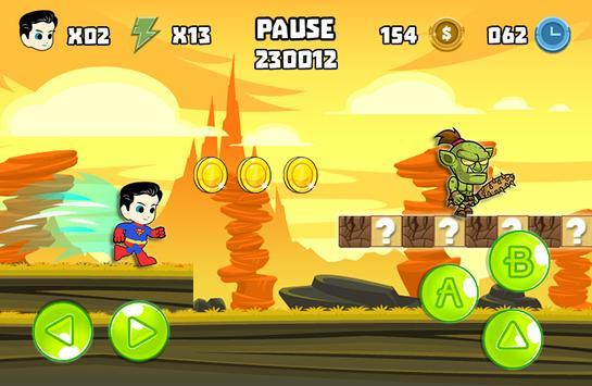 Super Justice Man apk screenshot