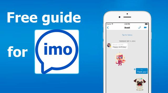 Guide for IMO free video calls and chat screenshot 1