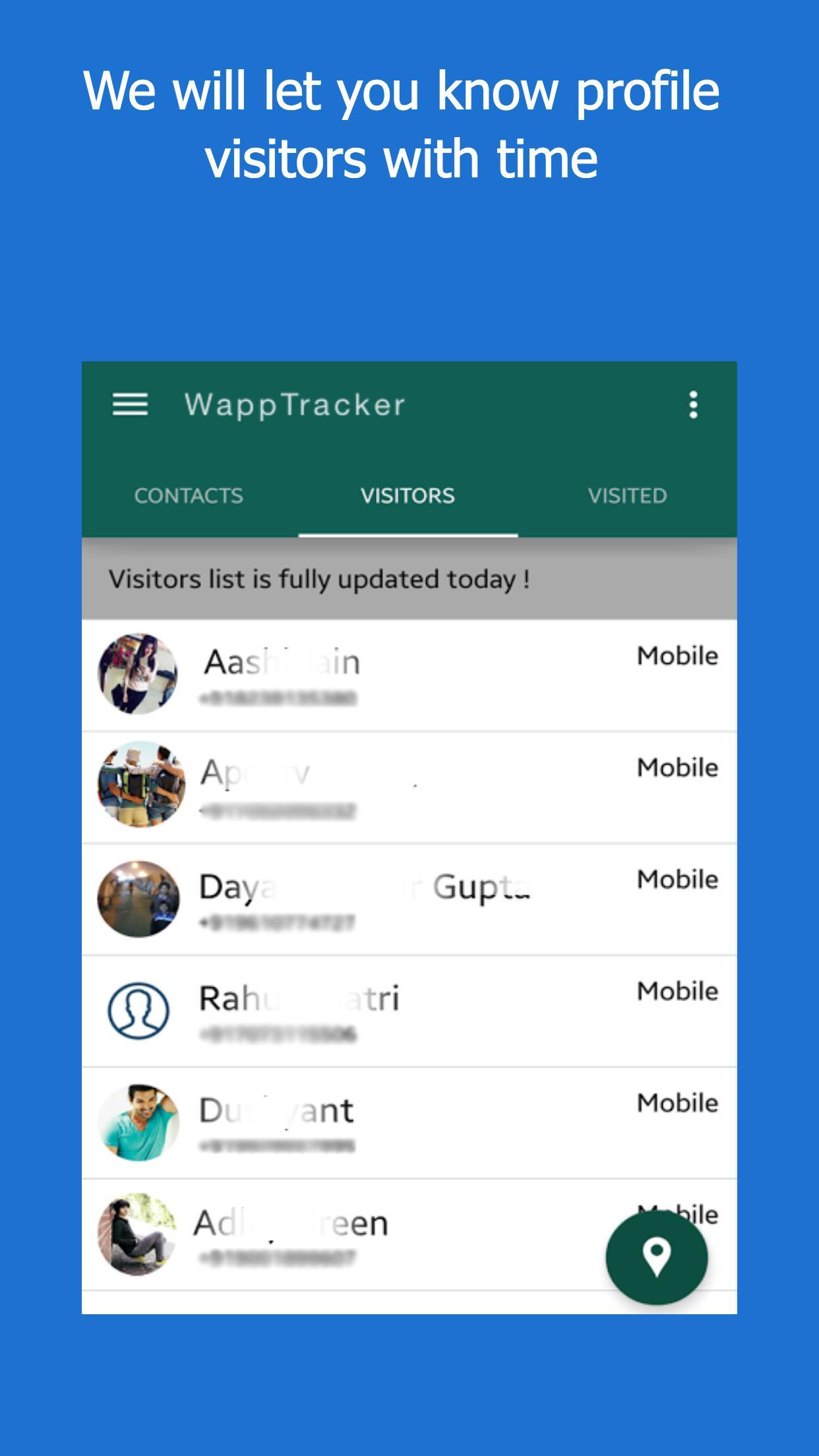 Wapptracker Check Who Viewed My Whatsapp Profile For