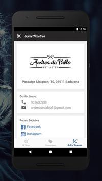 Andrea de Pablo Estilistes screenshot 3