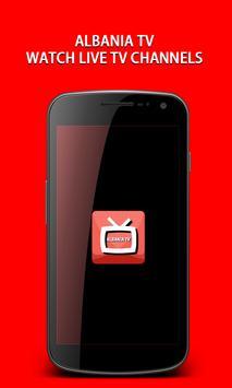 Albania TV,Live Tv : Mobile TV capture d'écran 1