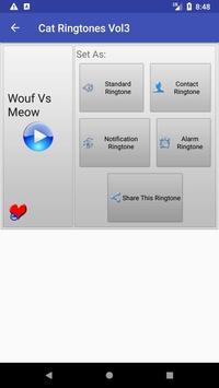 Cat Ringtones Vol3 apk screenshot