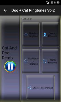 Dog and Cat Ringtones Vol2 screenshot 1