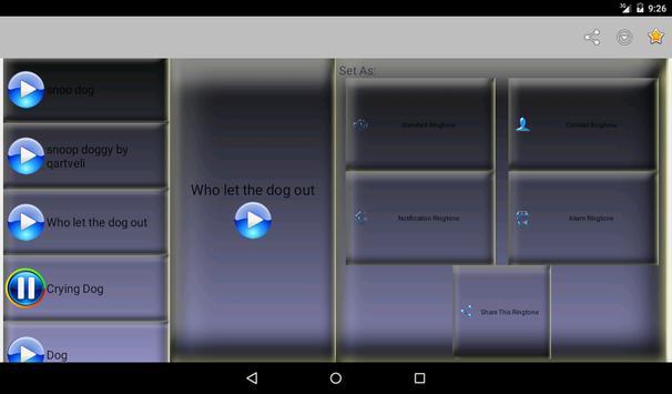 Dog Bark Ringtones Vol2 apk screenshot