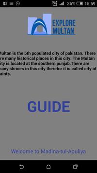 Explore Multan poster