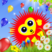 Hedgehog Balloon Pop icon