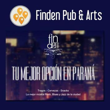 Finden Pub & Arts poster