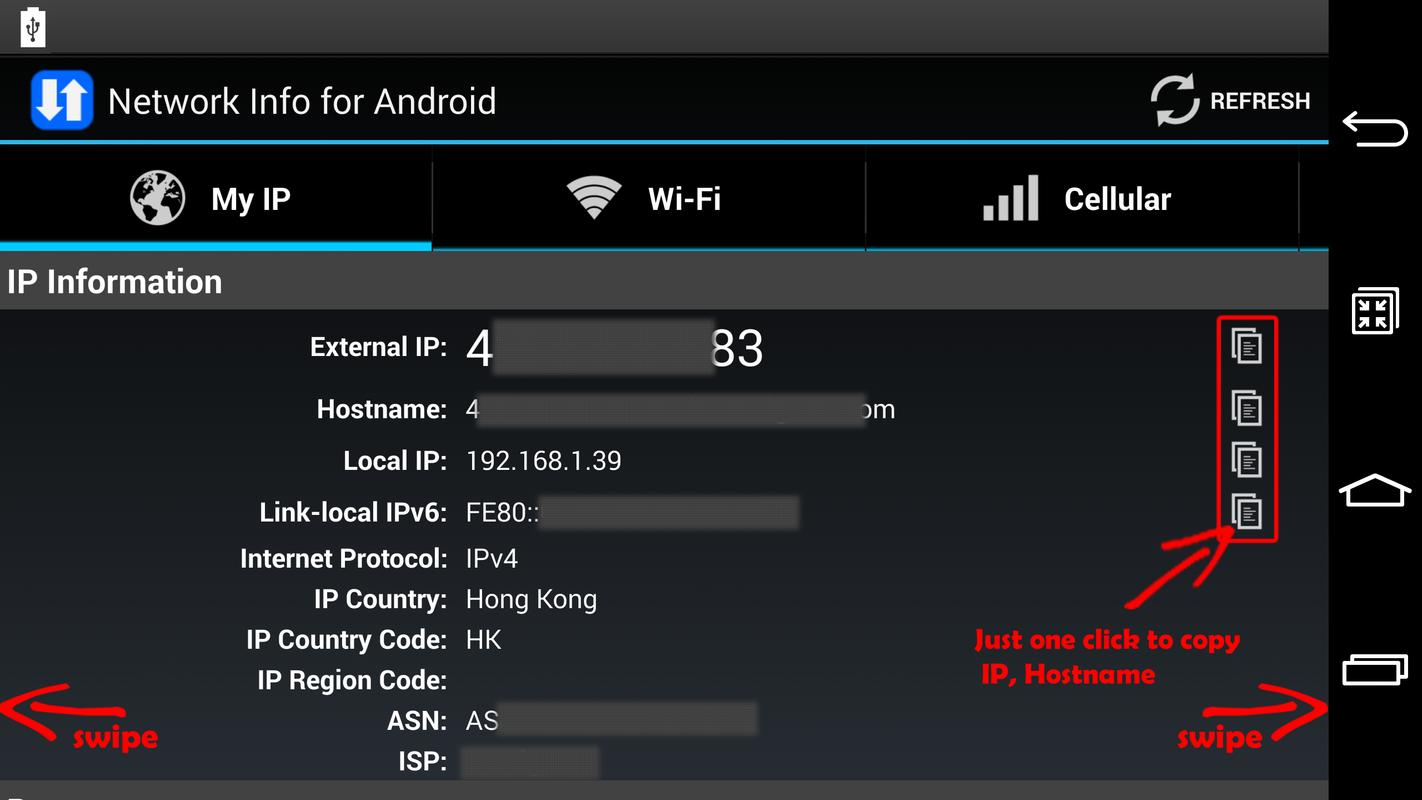 Network Info for Android for Android - APK Download