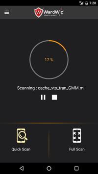 WardWiz Mobile Security (Free) screenshot 1
