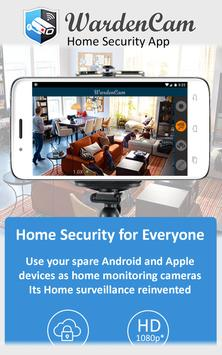Apps android Home Security Camera WardenCam apk the latest
