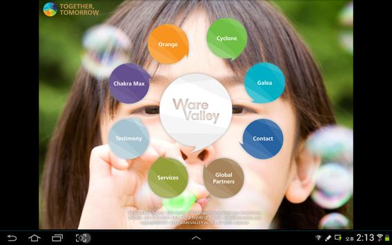 WareValley Profile2013 English poster