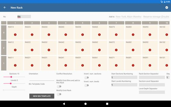 Warehouse Control System apk screenshot