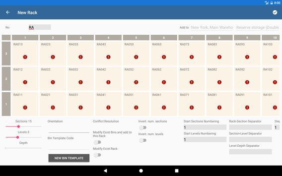 Warehouse Control System screenshot 4
