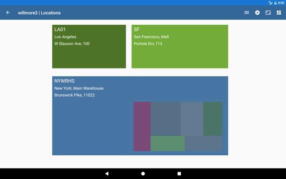 Warehouse Control System screenshot 1