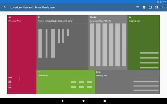 Warehouse Control System screenshot 2