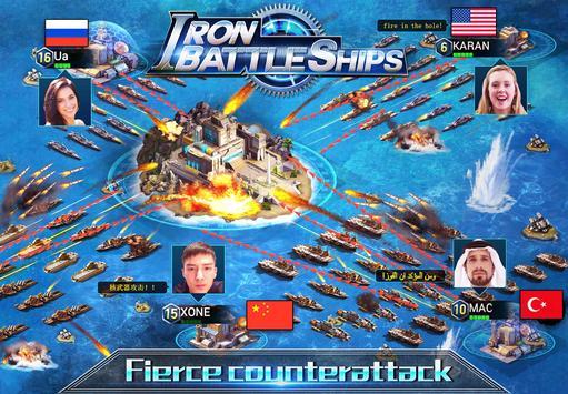 Storm BattleShips:Naval War apk screenshot