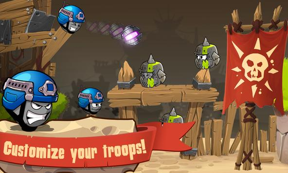 Warlings: Armageddon apk screenshot