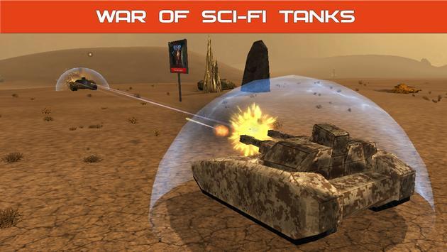 Tank Combat : Future Battles apk screenshot