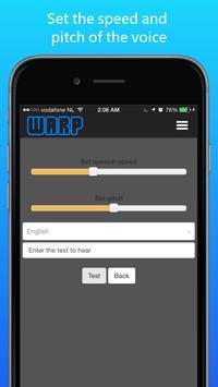 Warp News -Listen to your news screenshot 3