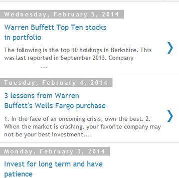 Warren Buffett News and Quotes apk screenshot