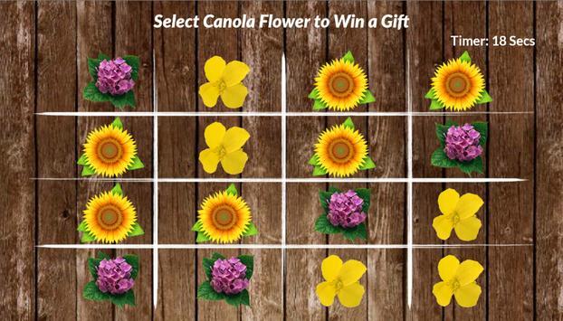 O'lite - Canola Flower Game screenshot 1